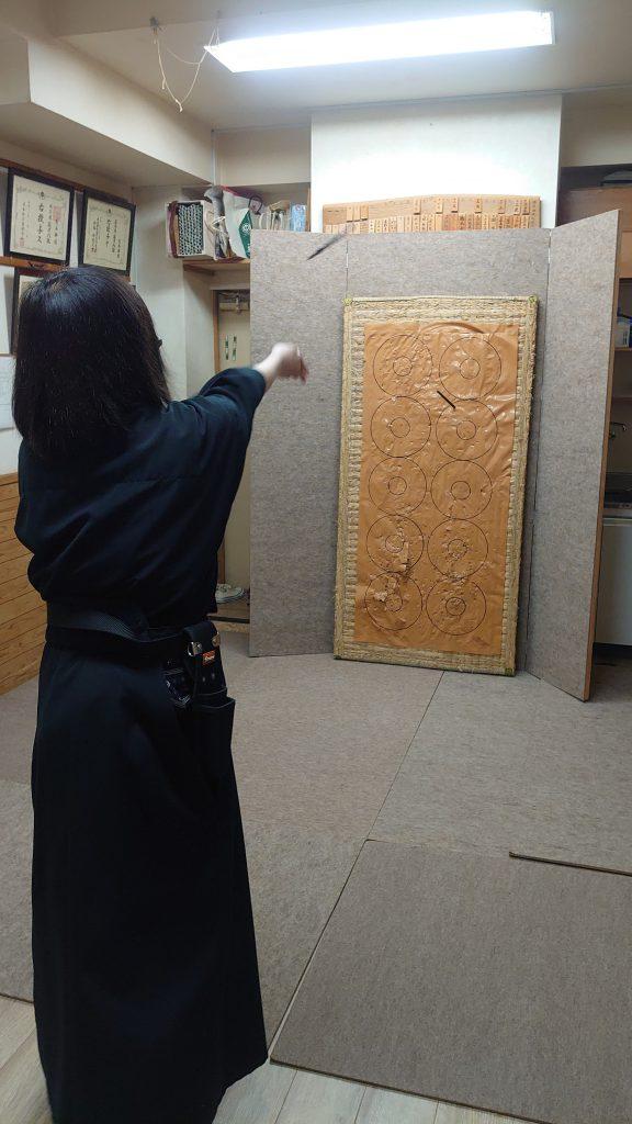 手裏剣練習1