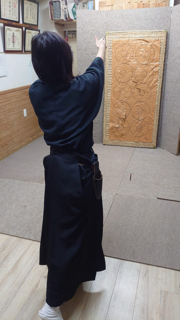 手裏剣練習2