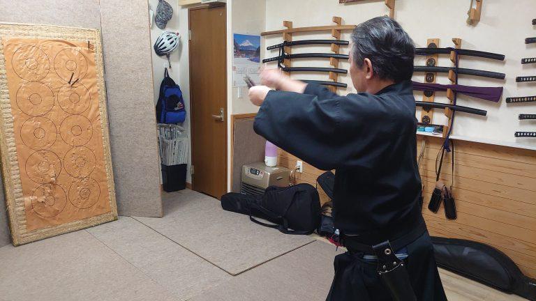 手裏剣練習3